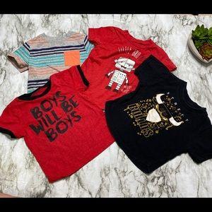 Bundle Boy shirts, King Maker, Okie Dokie